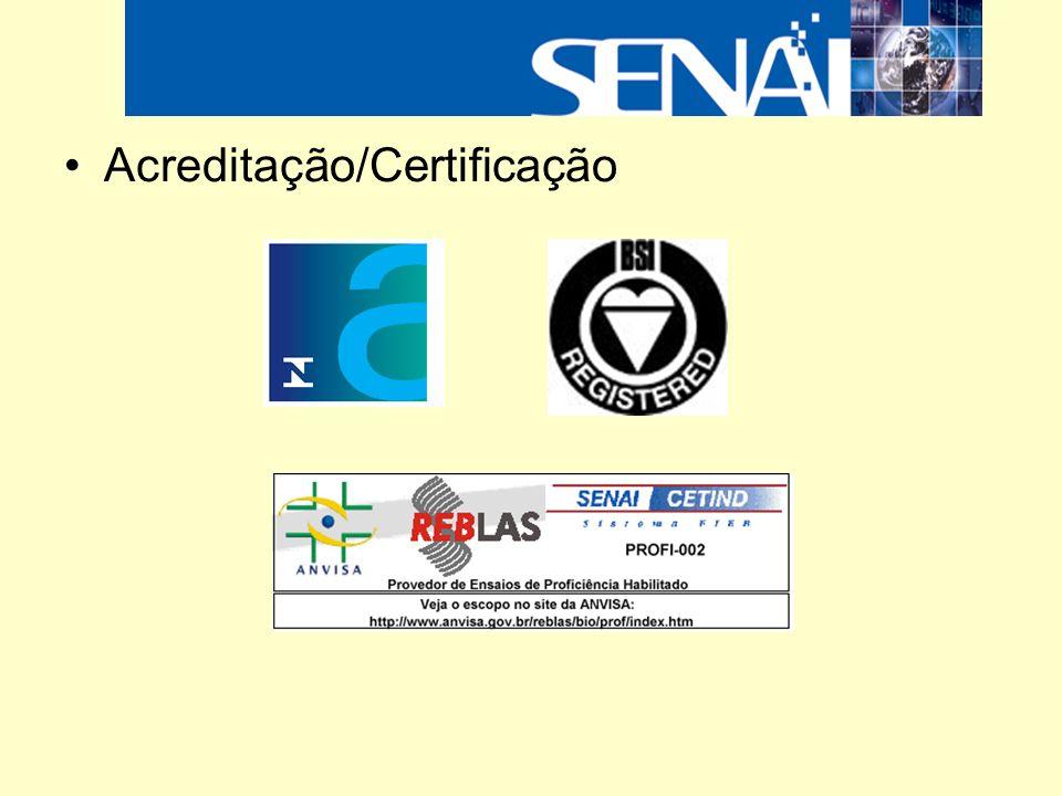 Acreditação/Certificação