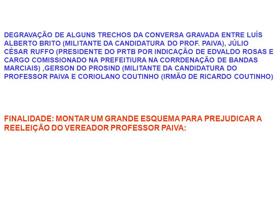 Gerson do Prosind: Coriolano Coutinho: CORIOLANO: EU ACHO QUE VOCÊ TEM MUITO MAIS A GANHAR EM FICAR COM A GENTE, NÃO SO VOCÊ MAIS QUEM GANHA MAIS E A CIDADE JULIO: E MANGABEIRA NÉ.