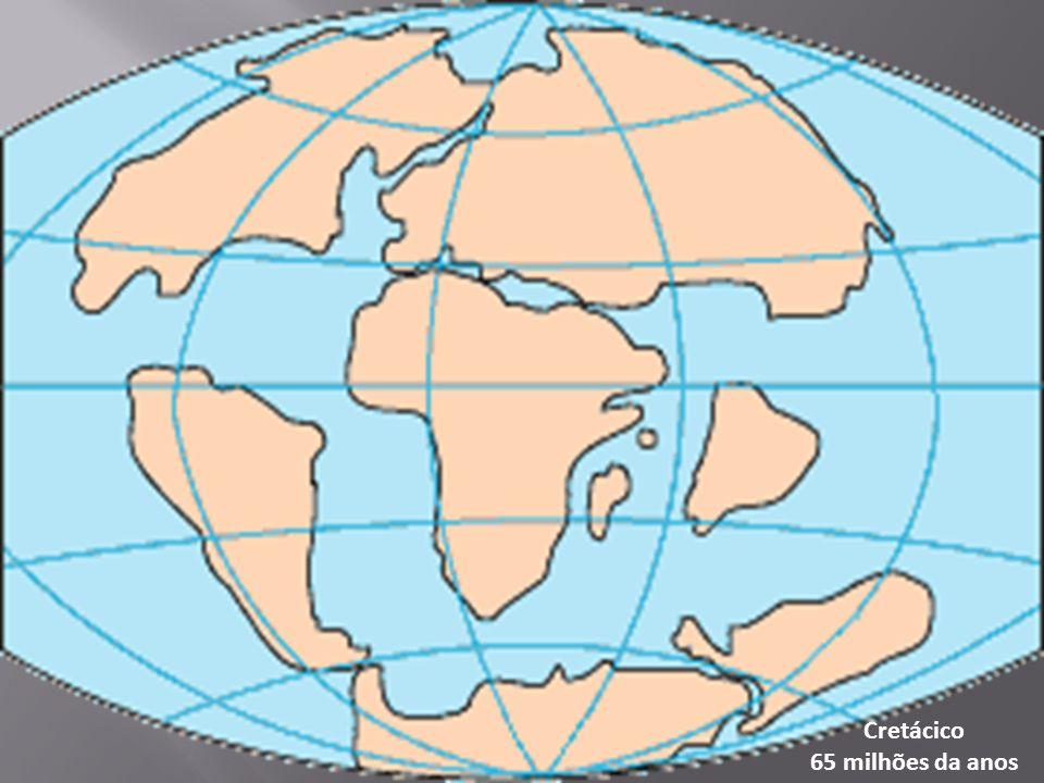 Cretácico 65 milhões da anos