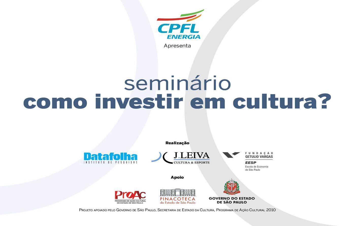 2 Objetivo hábitos culturais Este estudo tem como objetivo mapear e compreender, com profundidade, os hábitos culturais da população paulista com 12 anos ou mais.