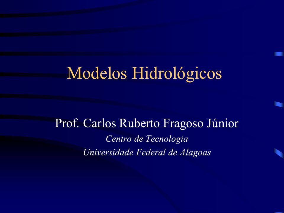 Modelos Hidrológicos Prof. Carlos Ruberto Fragoso Júnior Centro de Tecnologia Universidade Federal de Alagoas