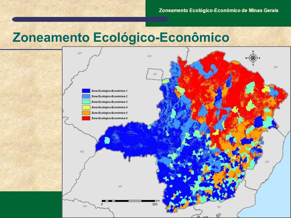 SEMAD – Secretaria de Estado de Meio Ambiente e Desenvolvimento Sustentável Zoneamento Ecológico-Econômico de Minas Gerais Zoneamento Ecológico-Econôm