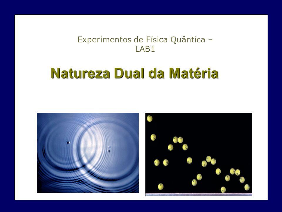 Natureza Dual da Matéria Experimentos de Física Quântica – LAB1