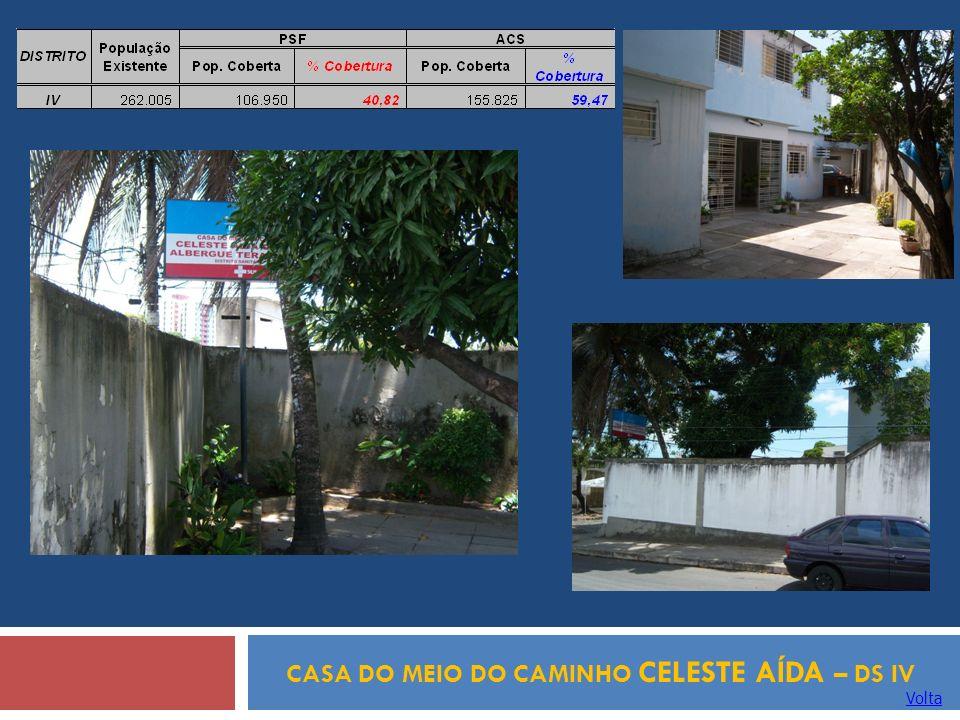 CASA DO MEIO DO CAMINHO CELESTE AÍDA – DS IV Volta