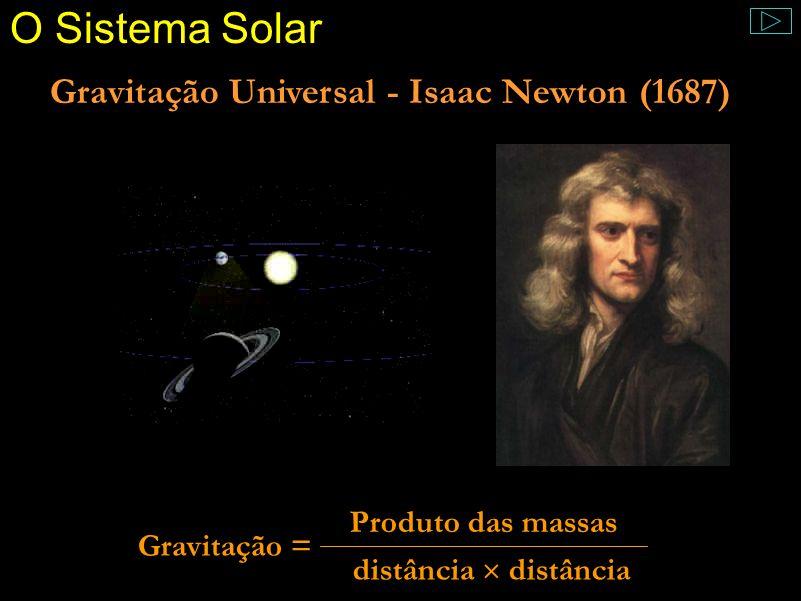O Céu Imutável ? Comentário: Entretanto, por volta de 1700 já eram conhecidas várias estrelas novae. Assim, o que parecia imutável começou a mudar um