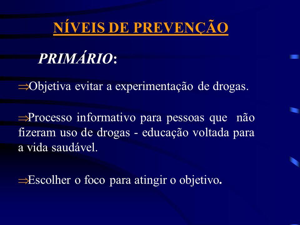 Conceito Geral de Prevenção Ô Vir antes; Ô Lidar com princípios de cidadania, ética educação de pessoas.