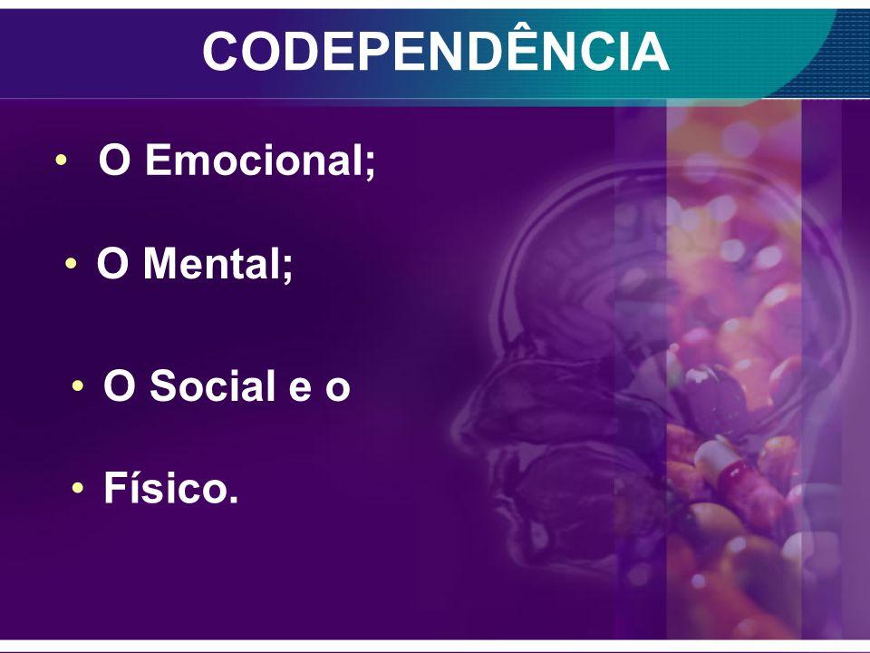 CODEPENDÊNCIA A codependência é uma condição caracterizada pela preocupação e dependência extrema sobre uma pessoa. Essa situação vai acontecer em vár