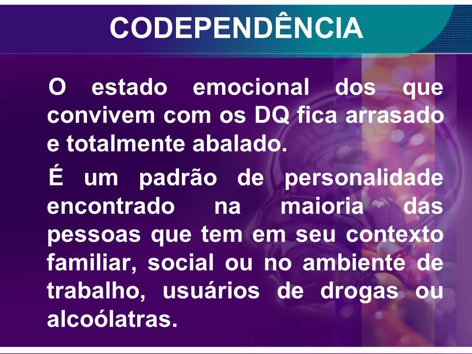 CODEPENDÊNCIA O Emocional; O Mental; O Social e o Físico.