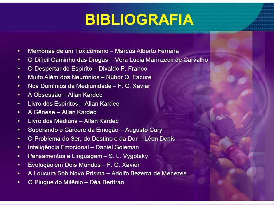 BIBLIOGRAFIA Porque adoecemos? Novos horizontes do conhecimento médico Espírita - Associação Médico Espírita de Minas Gerais. Porque adoecemos? Volume