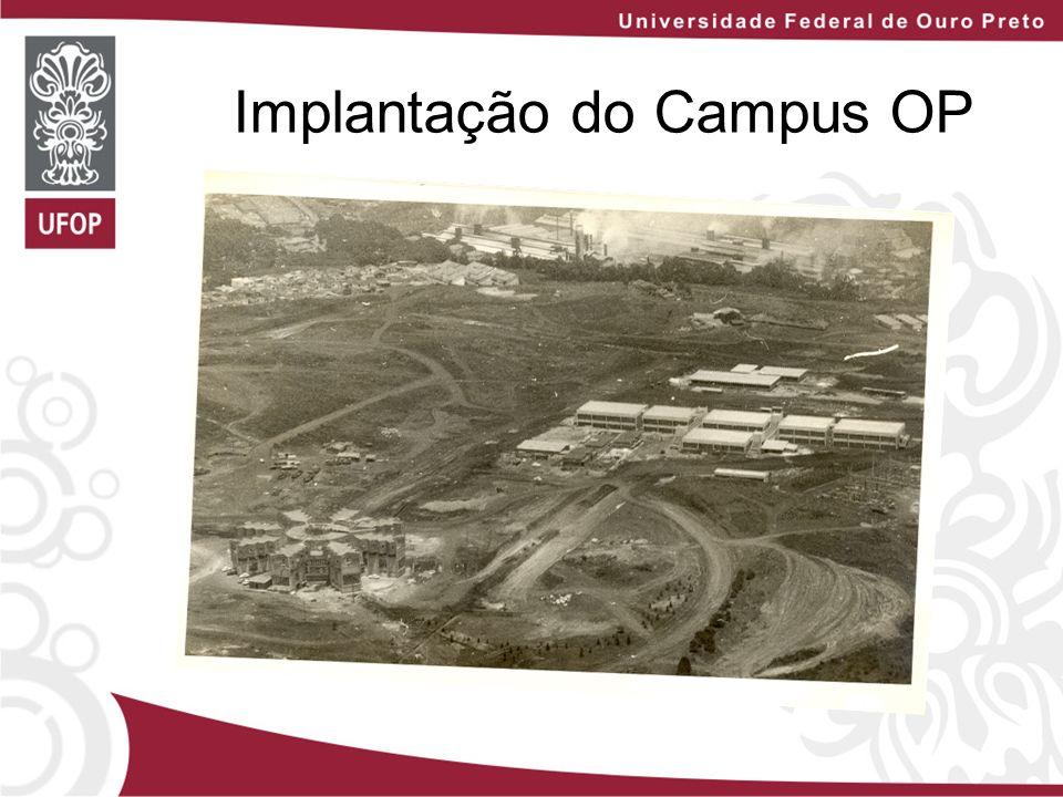 Implantação do Campus OP