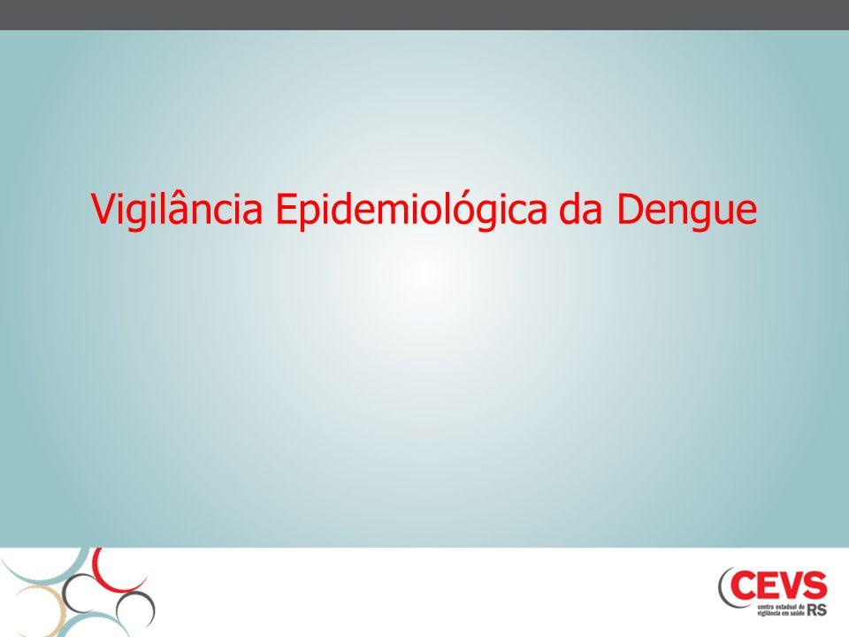 Vigilância Epidemiológica da Dengue