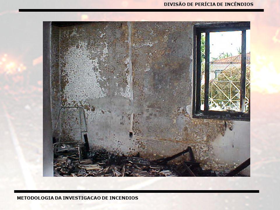 METODOLOGIA DA INVESTIGACAO DE INCENDIOS DIVISÃO DE PERICIA DE INCENDIOS METODOLOGIA DA INVESTIGACAO DE INCENDIOS DIVISÃO DE PERÍCIA DE INCÊNDIOS
