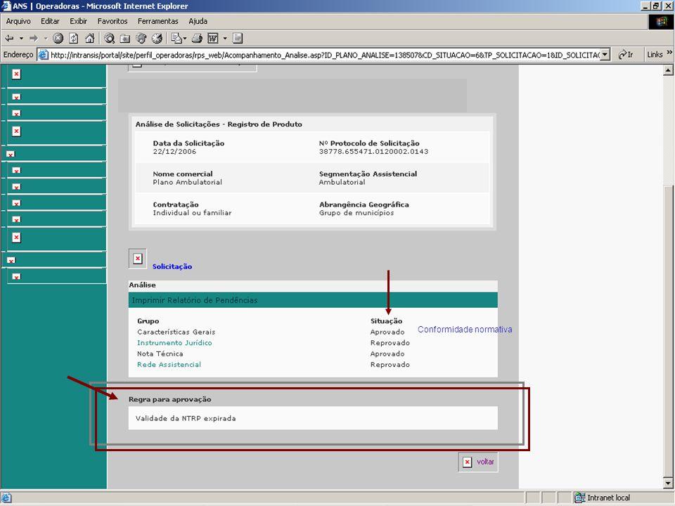 Oficina ANS/DIPRO- A IN Dipro 15/2007 e implicações no registro de produtos - Fevereiro 2008 CONSISTÊNCIAS PARA REGISTRO ARPS e RPS - Plano referência
