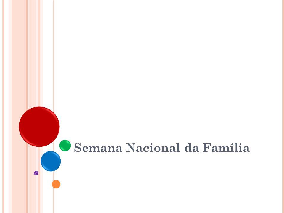 B REVE HISTÓRICO 2 1973 25/ago a 02/set/ 1973 : Primeira Semana da Família em Santos (SP), iniciativa de casais das Equipes de Nossa Senhora.