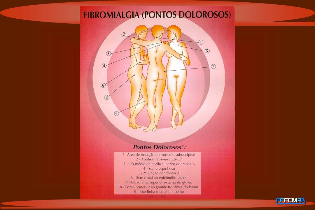 FIBROMIALGIA QUADRO CLÍNICO: Dor músculo-esq.