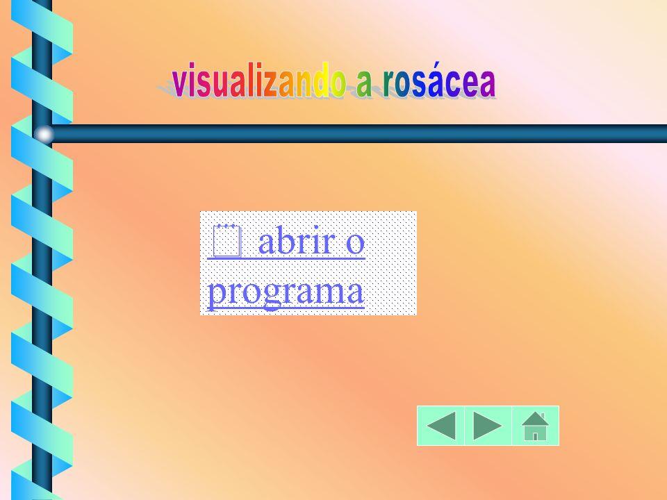 a) verificar o movimento de dilatação e encolhimento de uma figura segundo um intervalo de medida; b) animar as figuras utilizando os movimentos de ro
