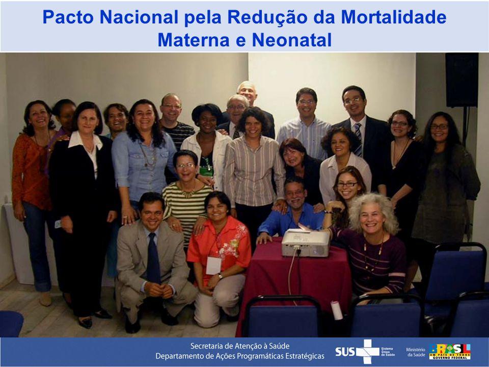 Pacto Nacional pela Redução da Mortalidade Materna e Neonatal