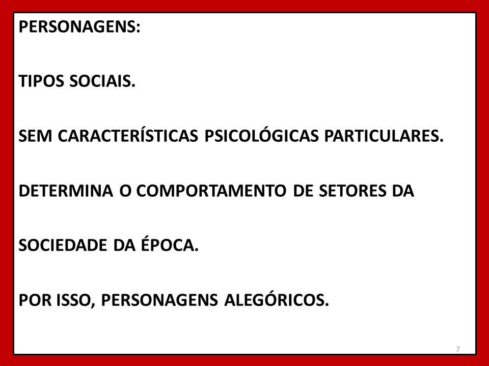 RESPONDA ÀS PERGUNTAS EM FOLHA SEPARADA.1 EXPLIQUE A FRASE: RINDO SE CASTIGAM OS COSTUMES.