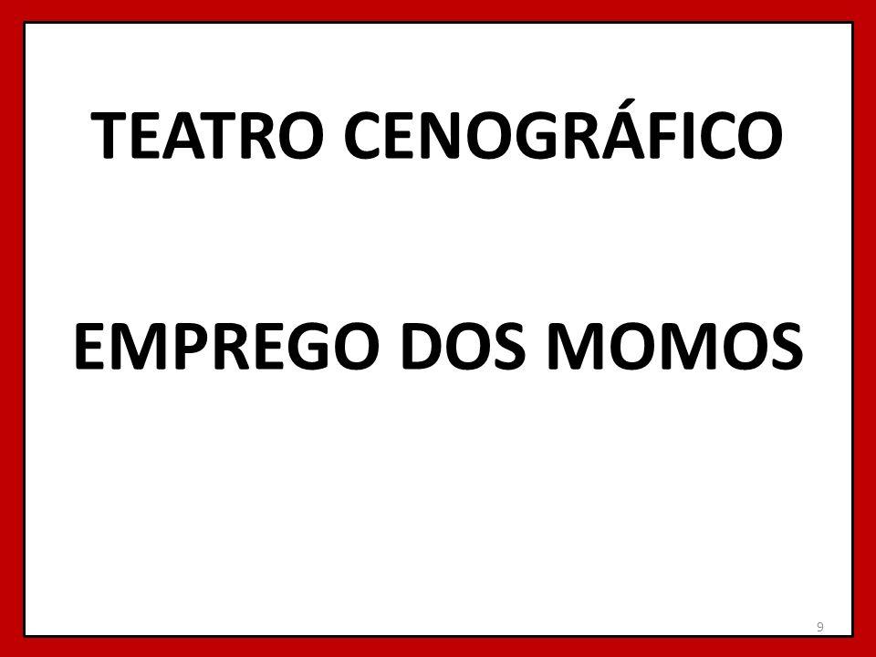 TEATRO CENOGRÁFICO EMPREGO DOS MOMOS 9