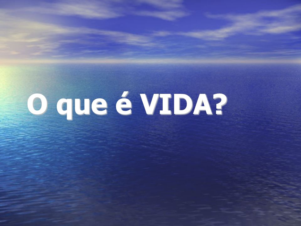 O que é VIDA?