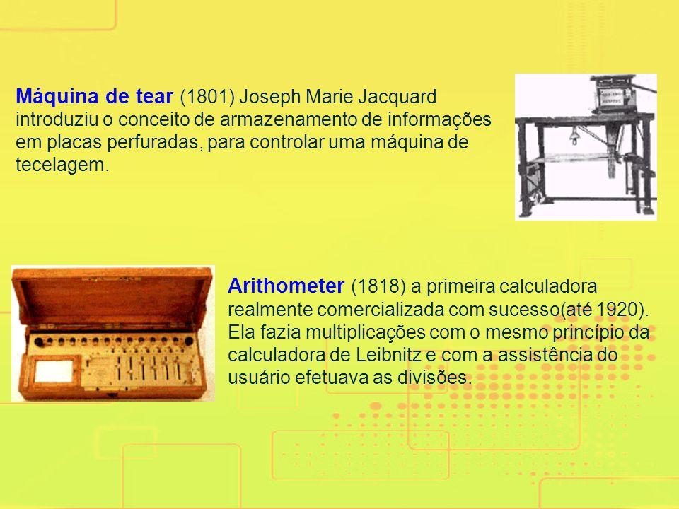 Ossos de Napier (1610 - 1614) como auxílio à multiplicação e divisão, pelo nobre escocês matemático John Napier. PASCALINE (1642-1644)foi a primeira m