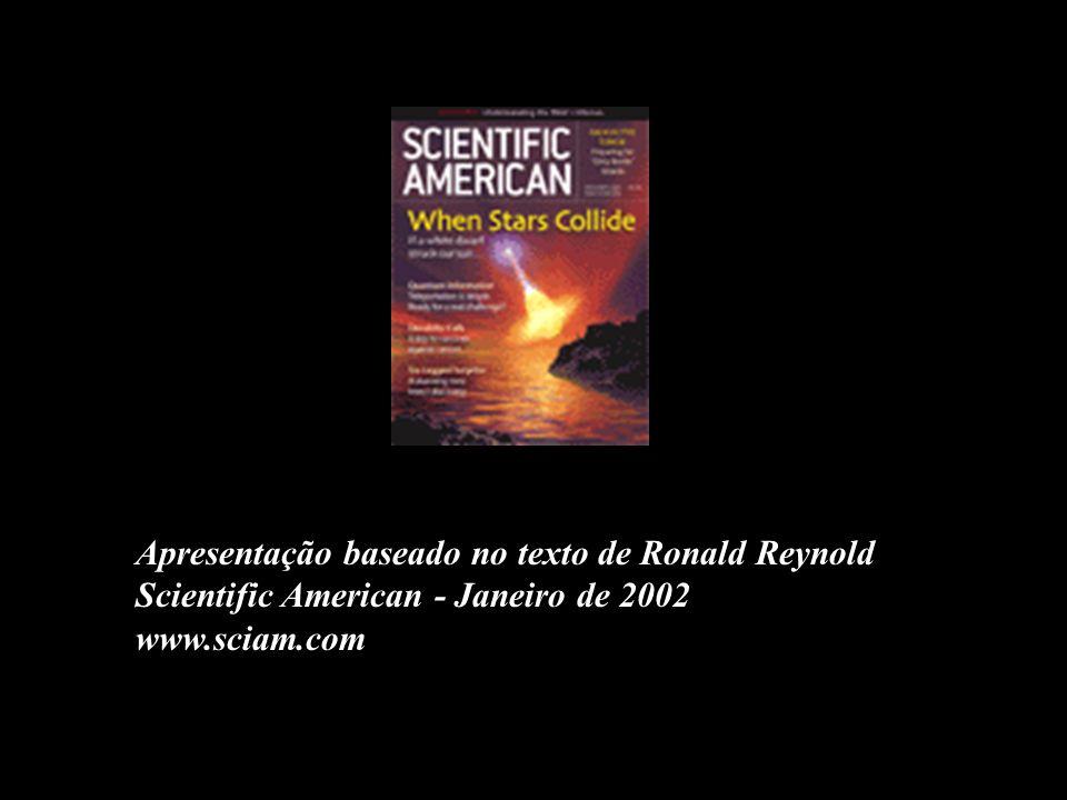 Apresentação baseado no texto de Ronald Reynold Scientific American - Janeiro de 2002 www.sciam.com