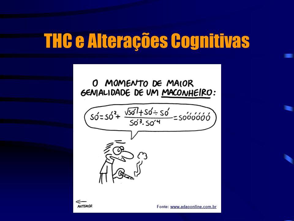THC e Alterações Cognitivas Fonte: www.adaoonline.com.br