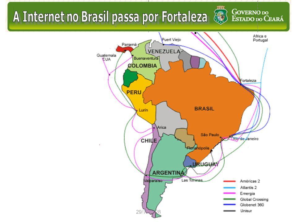 A Internet no Brasil Passa por Fortaleza Contexto Ambiente de Monopólio
