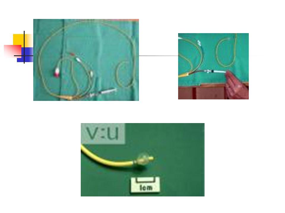 Medidas e Preparação para Uso do Cateter A medida das pressões intravasculares é feita por transmissão da pressão da coluna líquida até o transdutor eletromecânico.