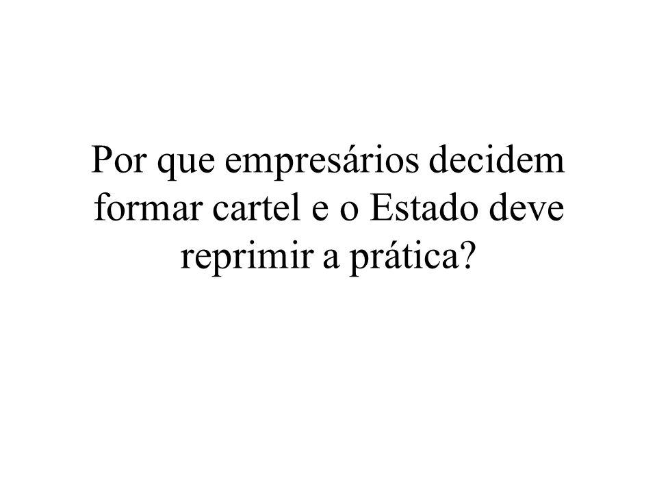Cartel de Florianópolis (2002) Decisão: –Empresas: multa de 10% do faturamento verificado em 1999, além de outras cominações –Pessoas físicas: 10% (gerentes e diretores) e 15% (presidente do Sindicato) –Sindicato: R$ 400.000,00