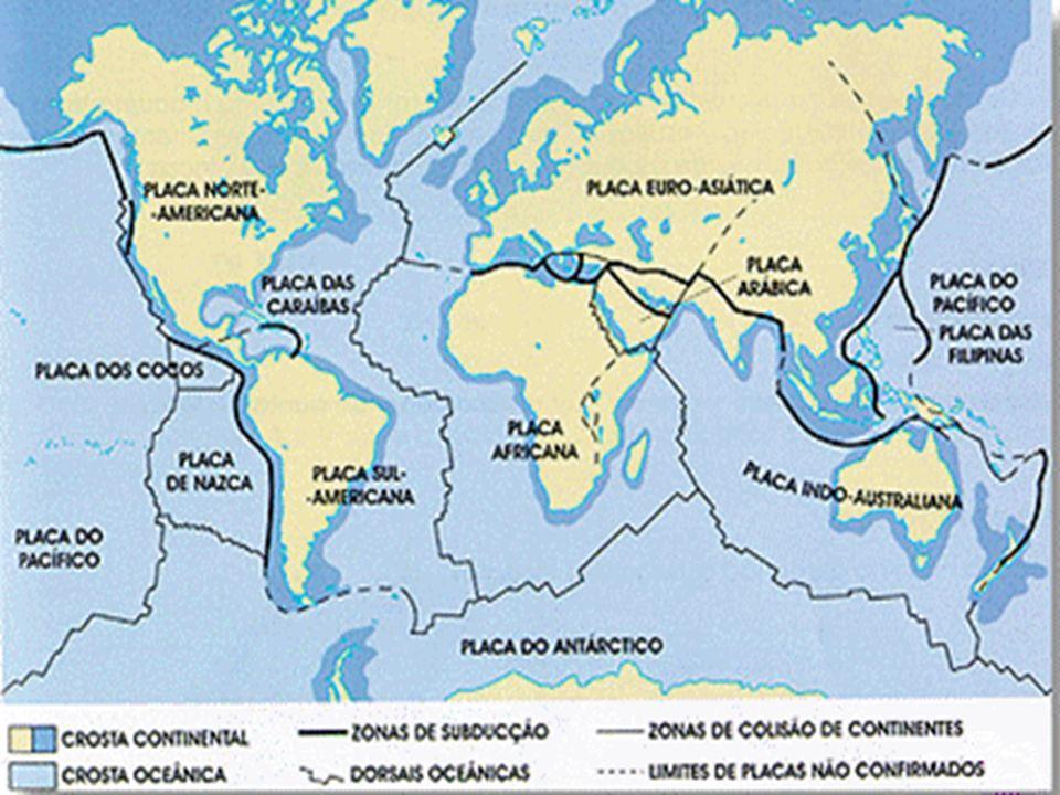 Buscando explicações Por meio desta teoria podemos compreender o movimento dos continentes e como se tem desenrolado este processo.