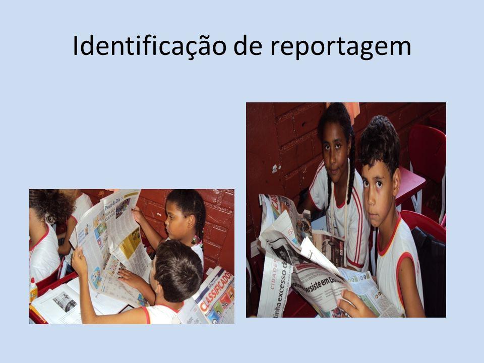 Identificação de reportagem
