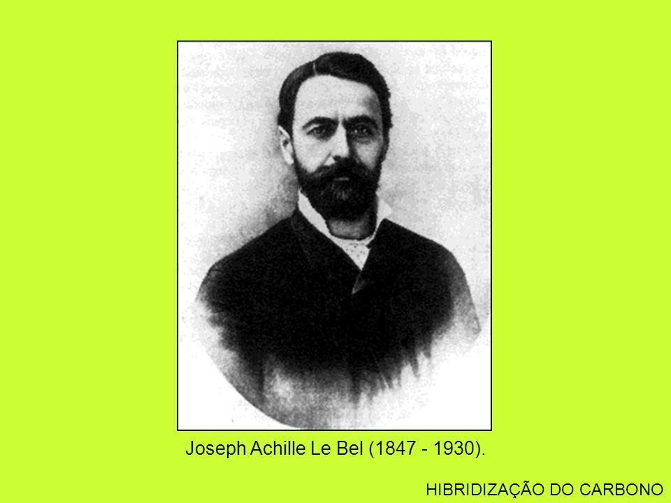 Joseph Achille Le Bel (1847 - 1930). HIBRIDIZAÇÃO DO CARBONO
