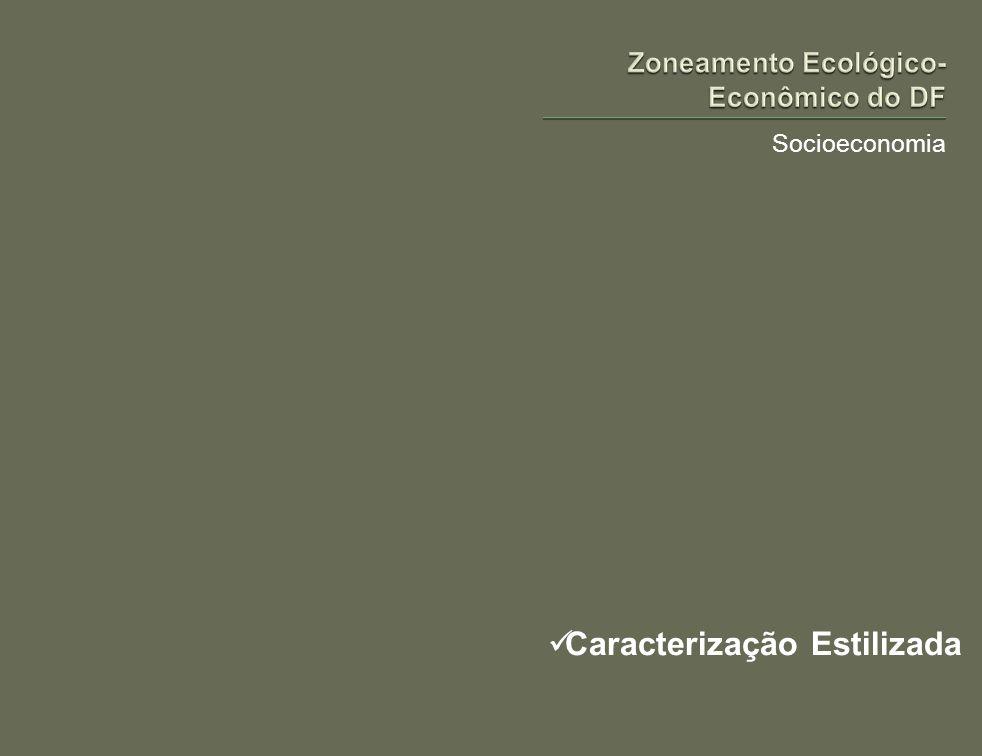 Socioeconomia É usual encontrar em textos populares ou técnicos algumas afirmações sobre as características da sociedade e da economia do Distrito Federal.