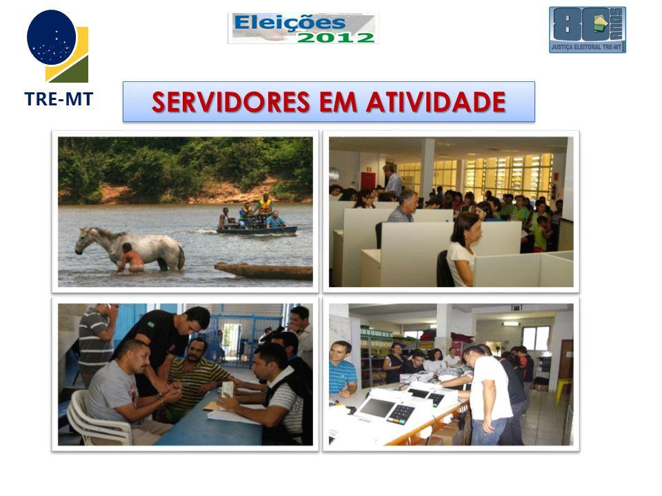 SERVIDORES EM ATIVIDADE