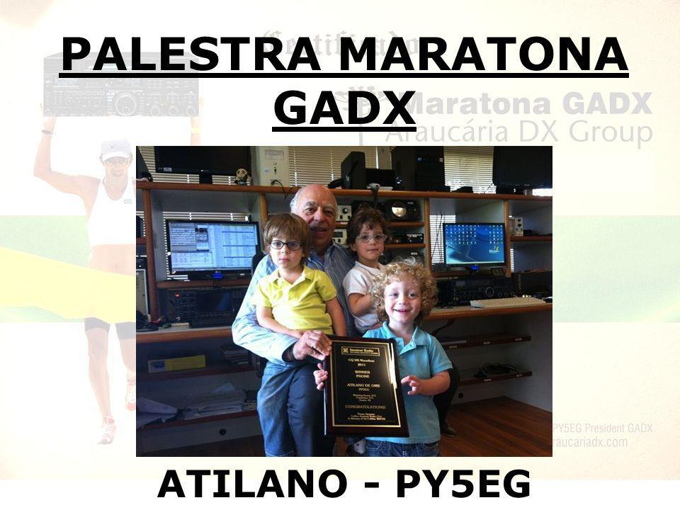 PALESTRA MARATONA GADX ATILANO - PY5EG