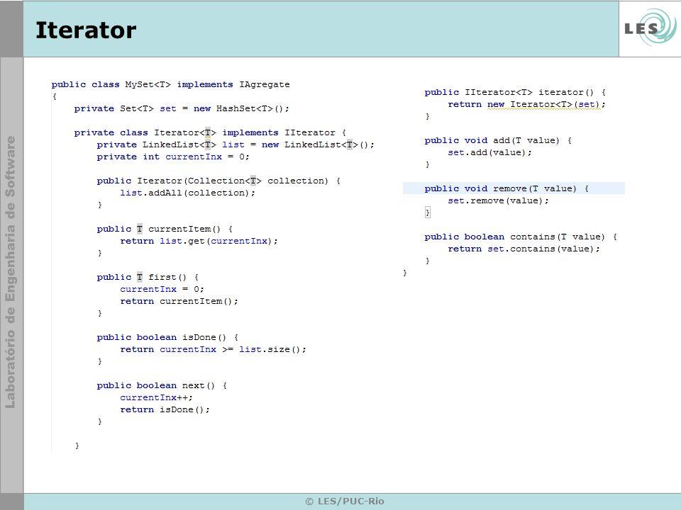 Iterator © LES/PUC-Rio