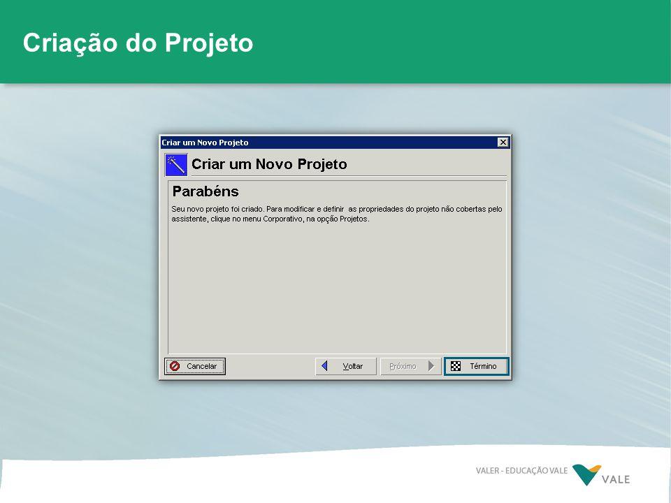 Configuração básica do projeto Criação do Projeto