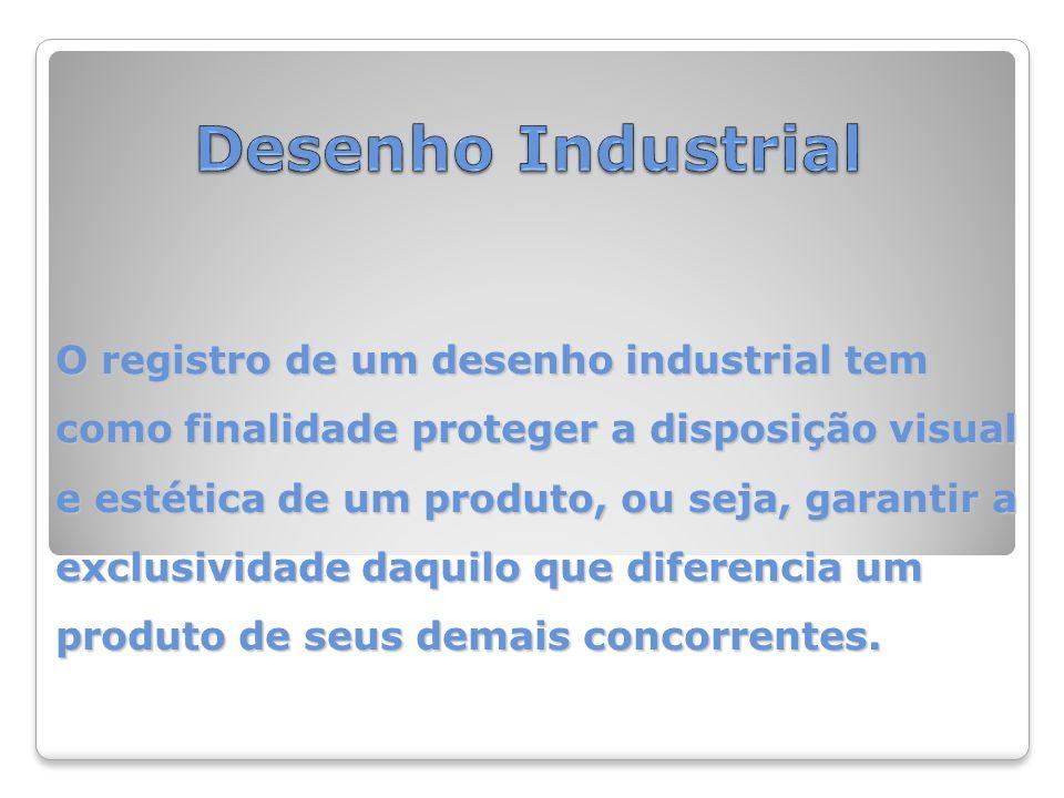 O registro de um desenho industrial tem como finalidade proteger a disposição visual e estética de um produto, ou seja, garantir a exclusividade daquilo que diferencia um produto de seus demais concorrentes.