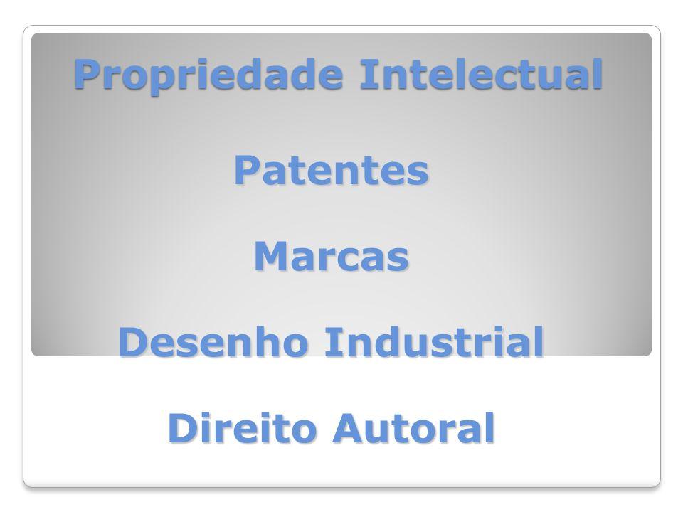 Propriedade Intelectual PatentesMarcas Desenho Industrial Direito Autoral