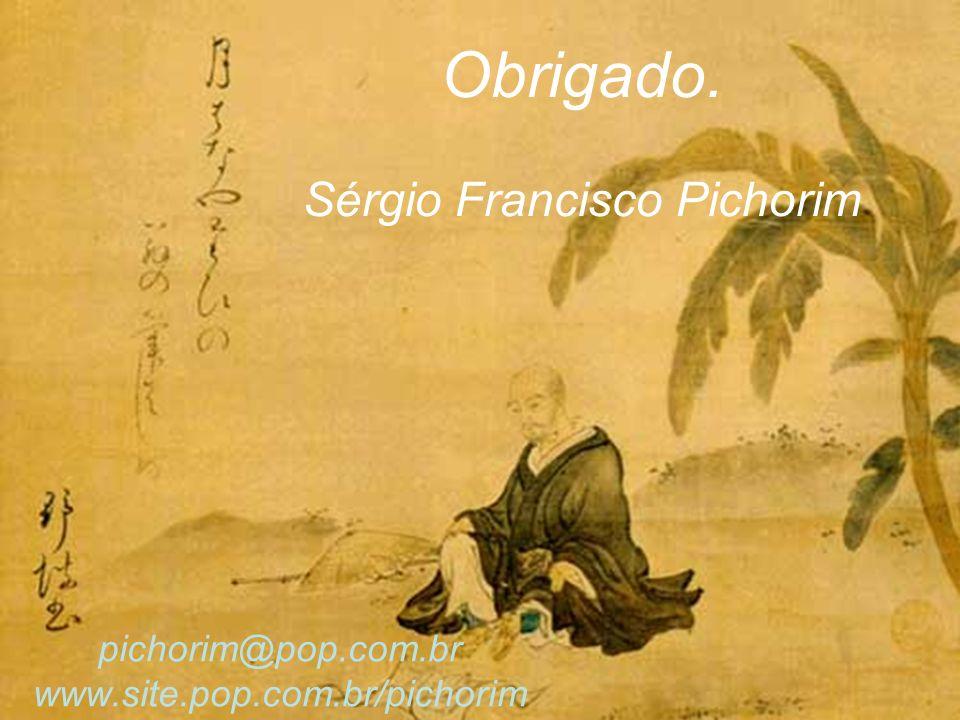 pichorim@pop.com.br www.site.pop.com.br/pichorim Obrigado. Sérgio Francisco Pichorim