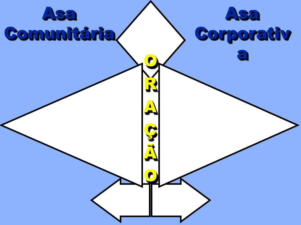 TREINAMENTO ESTRUTURA DA CÉLULA AsaCorporativaAsaCorporativaAsaComunitáriaAsaComunitáriaORAÇÃOORAÇÃO