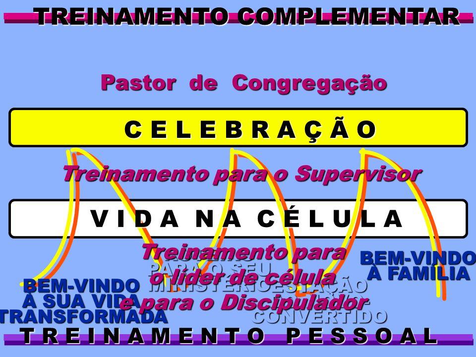 Pastor de Congregação BEM-VINDO À FAMÍLIA ESTAÇÃO DO NOVO- CONVERTIDO ROTEIRO PARA O SEU MINISTÉRIO BEM-VINDO À SUA VIDA TRANSFORMADA C E L E B R A Ç
