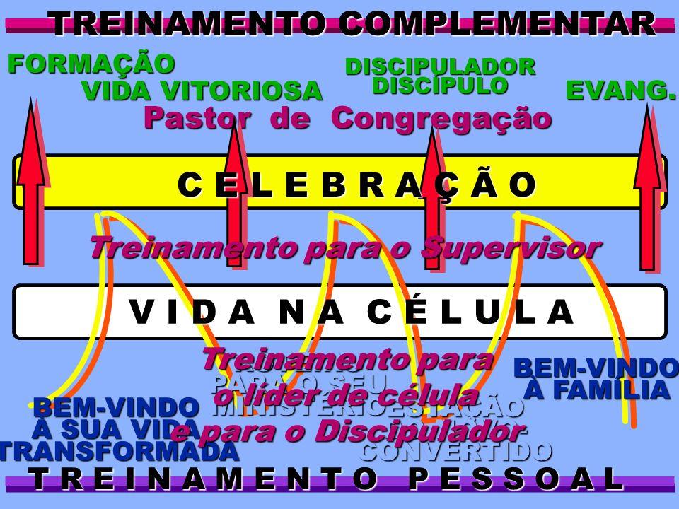 ESTAÇÃO DO NOVO- CONVERTIDO Pastor de Congregação BEM-VINDO À FAMÍLIA ROTEIRO PARA O SEU MINISTÉRIO BEM-VINDO À SUA VIDA TRANSFORMADA TREINAMENTO COMP
