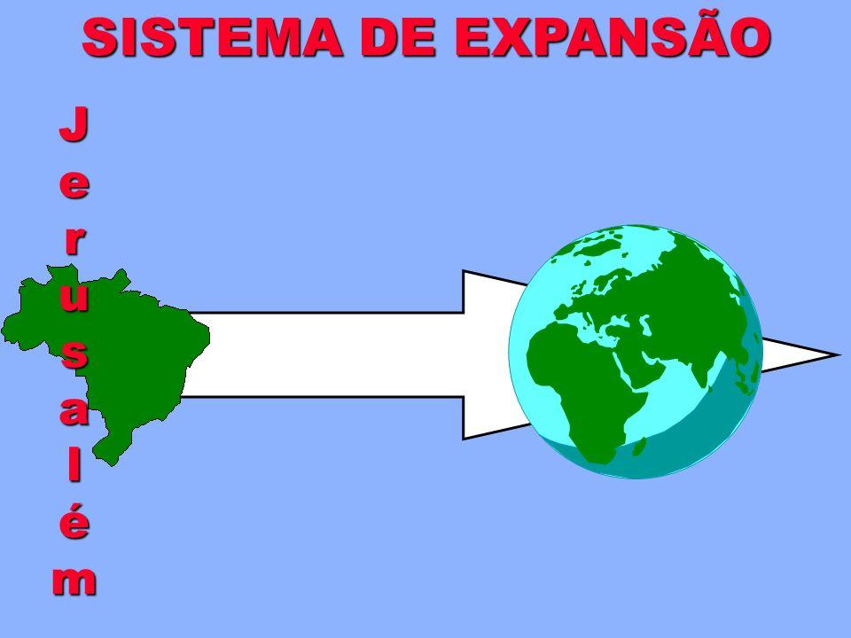 REDES DE EVANGELISMO GRUPOS ESPECIAIS são redes-alvo A célula arremessa uma rede especial em um Grupo-alvo ou Grupo de Interesse. (Uma vez a cada cicl