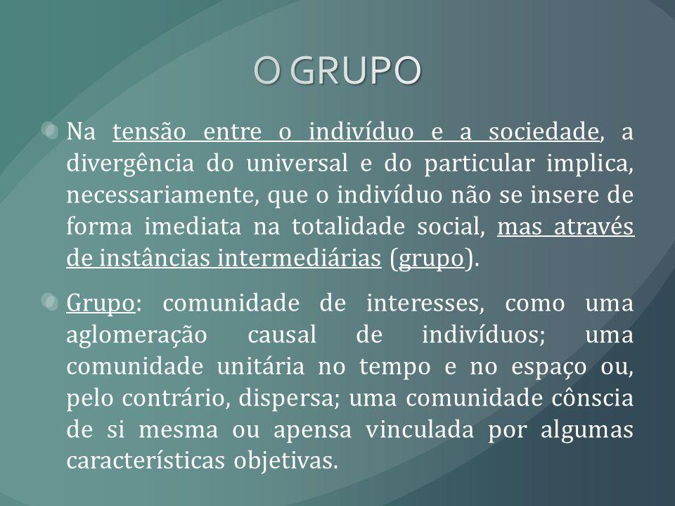 Na tensão entre o indivíduo e a sociedade, a divergência do universal e do particular implica, necessariamente, que o indivíduo não se insere de forma