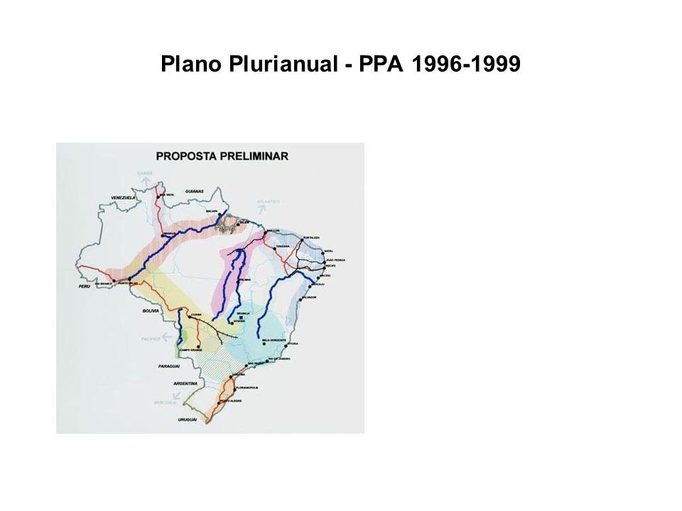 Plano Plurianual - PPA 1996-1999