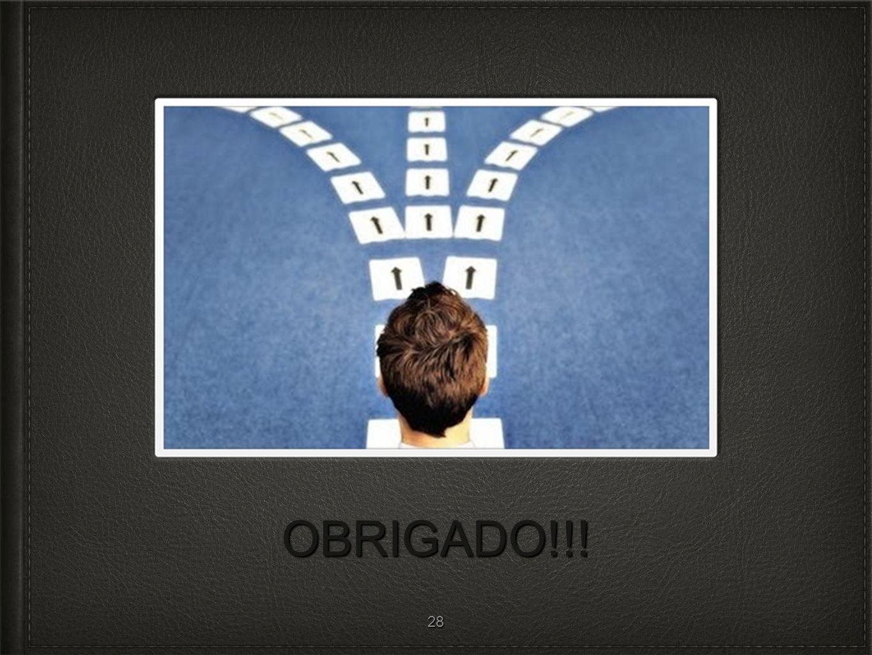 OBRIGADO!!! 28