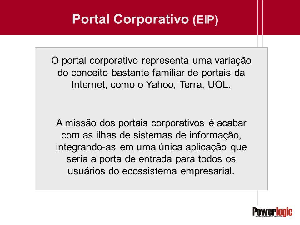 O portal corporativo representa uma variação do conceito bastante familiar de portais da Internet, como o Yahoo, Terra, UOL. A missão dos portais corp