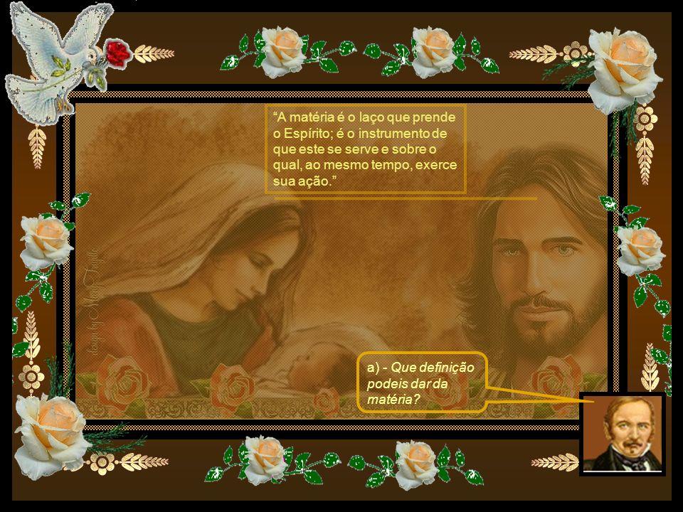 21.A matéria existe desde toda a eternidade, como Deus, ou foi criada por Ele em dado momento.
